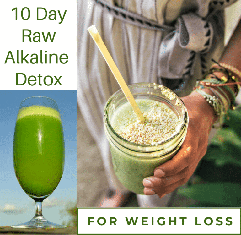 10 day raw alkaline detox