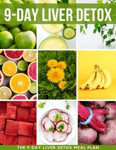 9-day liver detox meal plan