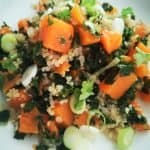 warm quinoa vegetable